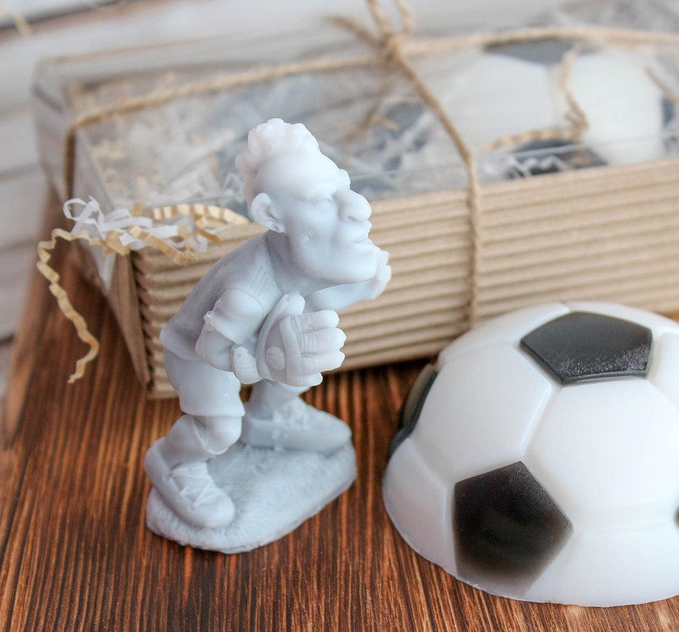 Подарочный набор мыла ручной работы Футболисту Milotto арт.004205